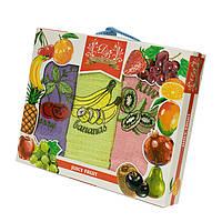 Набор вафельных полотенец Dia Bella Fruit 3*50*70см, 3397_dia_bella_3ka_fruits02