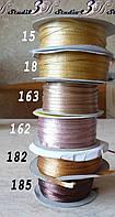 Лента атласная цвет №18 шириной 0,3 см - от 10 м