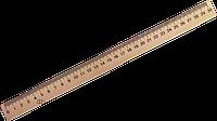 Линейка деревянная 30 см./шелкография/ Мицар