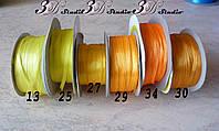 Лента атласная цвет №34 шириной 0,3 см - от 10 м