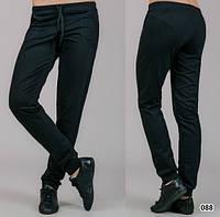 Трикотажные брюки женские Классика (черные)