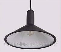 Cветильник подвесной  DL -L350 BLACK E27  350x250мм, фото 3