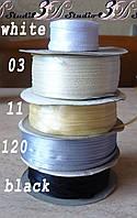 Лента атласная цвет №11 шириной 0,3 см