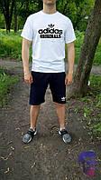 Спортивный костюм комплект шорты и футболка Adidas Originals Адидас