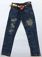 Детские джинсы на девочку 8-12 лет весна , фото 1