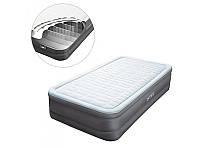 Надувная кровать с насосом 220В, 191х99х46см, Intex, 64482