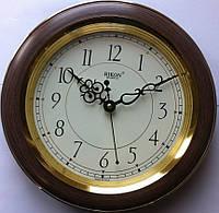 Часы настенные RIKON ИНДИЯ RK-4451tm плавный ход 28см.