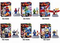 Конструктор Bela серия Super Heroes 10242-10247 6 видов (аналог Lego Super Heroes)