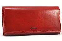 Женский кошелек на магнитах Ivorx 5242 Red
