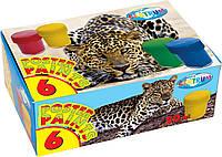 Краски гуашевые 6 цв. Centrum Zoo 20мл, 82560