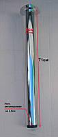 Нога для стола регулируемая из стали (хромированная)