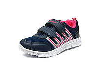 Обувь. Детские кроссовки Clibee K-119. Синий+Малина.
