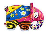 """Антистрессовая игрушка мягконабивная """"SOFT TOYS """"Слон"""", разноцветный, 25*20см(DT-ST-01-59)"""