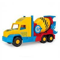 "Бетономешалка мал. ""Super Truck"", в кор. 59*28см, ТМ Wader (4шт)(36590)"