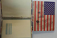 Блокнот, на кольцах, 100 листов, 80 гр., одноцветная печать, 18*26м(JGHY251051-7009)