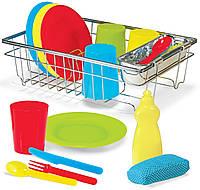 Набор кухонной пластиковой посуды Melissa & Doug
