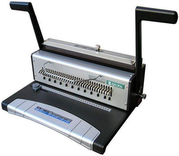 Офисный брошюровщик S303 на металлическую пружину