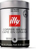 Кофе в зернах Illy темная обжарка 250грамм