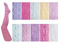 Колготки жакардовые для девочек р. 150-154см (Производство Польша)(RA-06H/MIX/150-154)