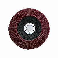 Круг лепестковый комбо скотч-брайт P320   для УШМ 125х22 мм. красный