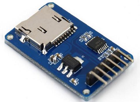 Модуль MicroSD считывания карт для ARDUINO