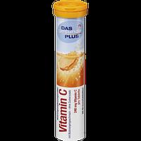 Витамины растворимые в таблетках DM Das Gesunde Plus Vitamin C 82г., фото 2