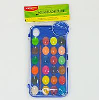 Краски для рисования, 24 цветов, в пак. (144шт)(01432)