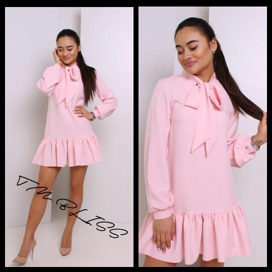 079fabe531f Романтичное женское платье (костюмка
