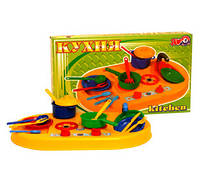 Кухня 1- іграшка пластмас, в кор. 51*31*8см, ТМ Технок, Україна (4шт)(1912)