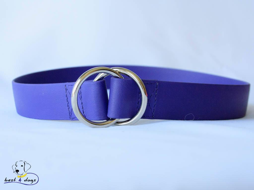 Ошейник-удавка из биотана, Фиолетовый, 19мм