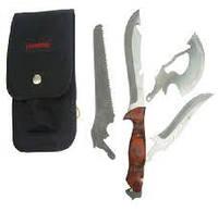 Нож туристический,со сменным лезвием - набор ножей