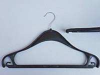 Плечики вешалки тремпеля Турок40 черного цвета, длина 40 см