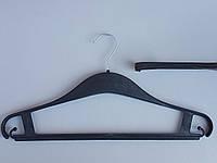 Плечики вешалки тремпеля Турок41  черного цвета, длина 41 см