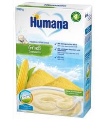 Молочная каша Humana кукурузная 200 гр.