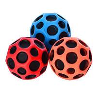 Мяч детский 6,5см, ЦЕНА ЗА УП.,резина, 4 цвета, 12шт. в пак. 20*27*6,5см(96шт)(MS0410)