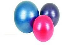 Мяч резин.для фитнеса, 55 см 800г (40шт)(1501F)
