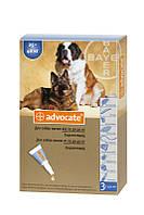 Адвокат капли для собак весом 25-40кг (1пипетка)