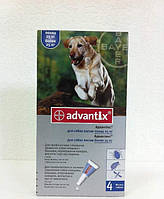 Капли Адвантикс для собак весом от 25кг 4,0мл 1шт