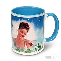 Чашка керамика цветная для нанесения