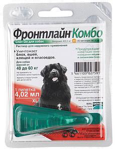 Merial Frontline Combo  (Фронтлайн Комбо) XL капли для собак от 40 кг 1пипетка