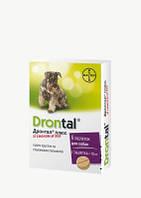 Дронтал плюс(Drontal plus) со вкусом мяса, для собак, 6 таблетки ( Bayer )