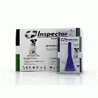 Капли Inspector ( Инспектор )для собак 4-10 кг, от внешних и внутренних паразитов, 1 пипетка
