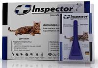 Капли Inspector ( Инспектор для кошек до 4кг - 1 пип., комплексный препарат от наружных и внутренних паразитов