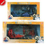Набор спасателей 2 вида в коробке, 42*23*11см (24шт)(911-116AB)