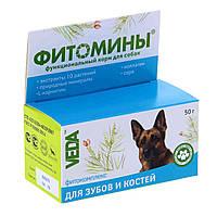 Витамины Фитомины для зубов и форм. скелета для собак таблетки №100
