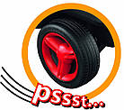 Машинка Каталка Чудомобиль Fulda BIG 0013501 Германия, фото 4