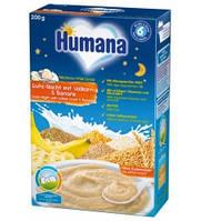 Молочная каша Humana цельнозерновая с бананом 200 гр.