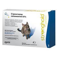 Стронгхолд (Stronghold) кошки 2,6-7,5 кг  3 пипетки