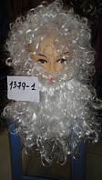 ПарикДеда Мороза с бородой (100шт)(1379-1)
