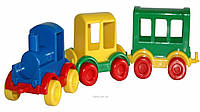 "Паровозик ""Kid cars"" 3шт, в кор 32*9*9см, TM Wader(39260)"